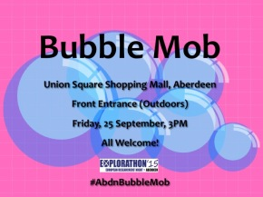 Bubble Mob in Aberdeen!