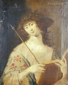 George Jamesone (and Cosmo Alexander), Sibyl Europæa, ca.1640. ©The University of Aberdeen; Supplied by The Public Catalogue Foundation