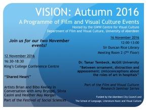 VISION: November Events