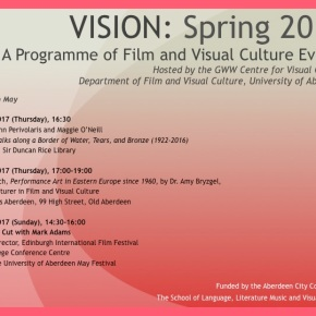 VISION events – Spring2017