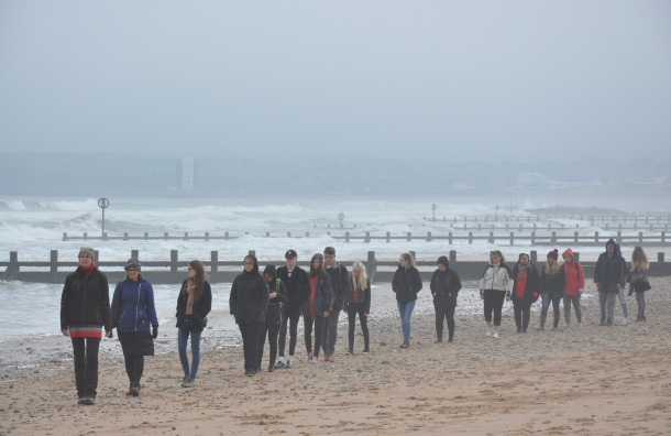 slow performance bibo keeley beach walk