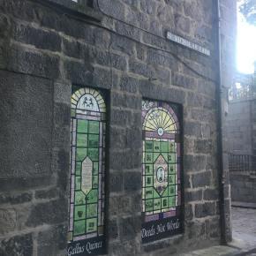 Quine Shrine in Aberdeen Hexes thePatriarchy
